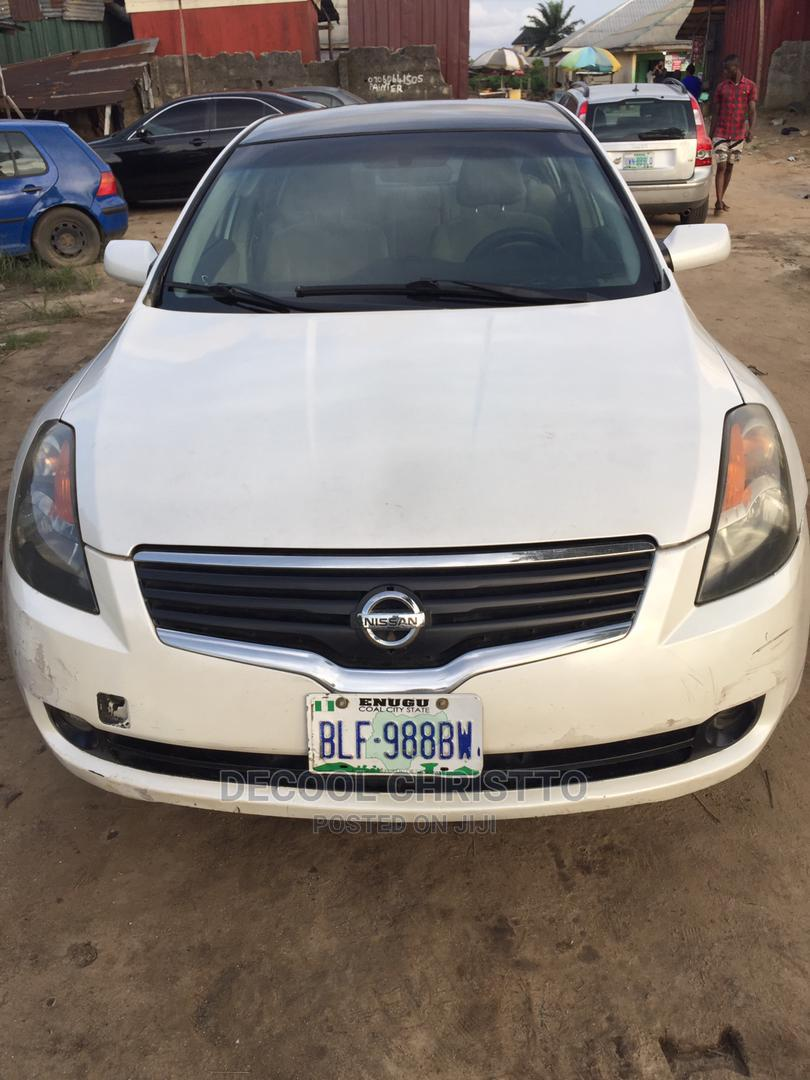 Nissan Altima 2007 2.5 S White   Cars for sale in Port-Harcourt, Rivers State, Nigeria