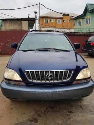 Lexus RX 2002 300 4WD Blue | Cars for sale in Lagos State, Isolo