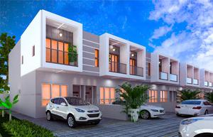 3bdrm Apartment in Terrace of Carter, Sangotedo for Sale | Houses & Apartments For Sale for sale in Ajah, Sangotedo