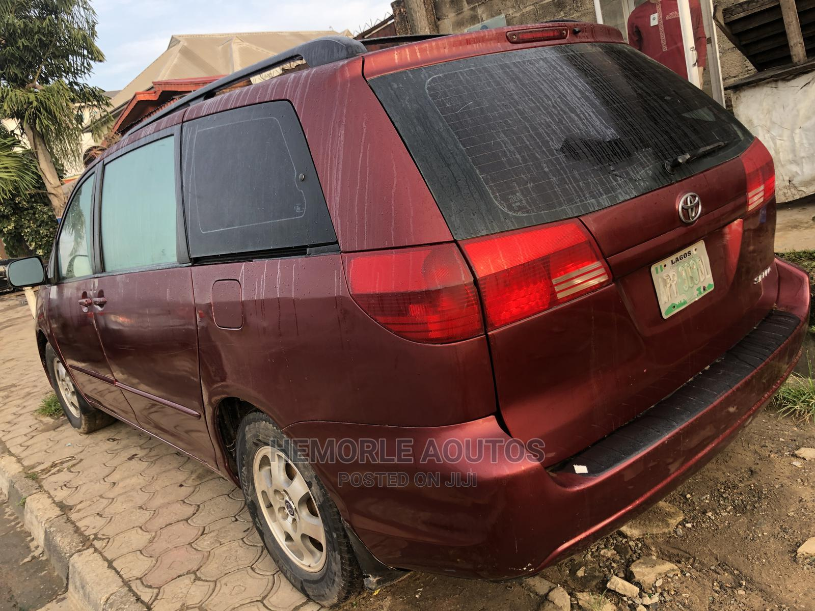 Toyota Sienna 2006 CE FWD Red | Cars for sale in Ikeja, Lagos State, Nigeria