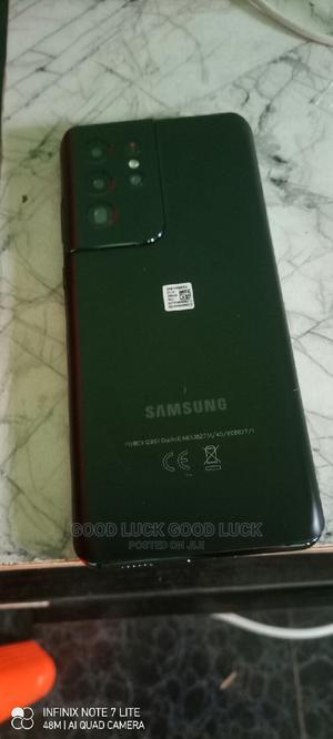 Samsung Galaxy S21 Ultra 5G 256 GB Black | Mobile Phones for sale in Edo State, Benin City