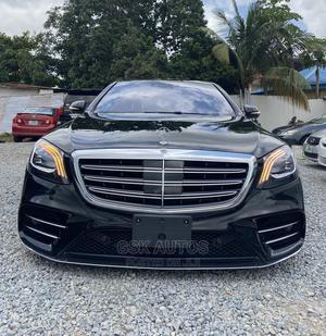 Mercedes-Benz S-Class 2018 S 560 4MATIC (W222) Black | Cars for sale in Lagos State, Ogudu