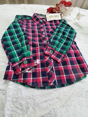 Check Cotton Shirt for Boys | Children's Clothing for sale in Abuja (FCT) State, Jabi
