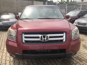 Honda Pilot 2006 Red | Cars for sale in Lagos State, Ojodu