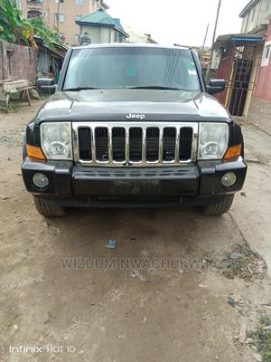 Jeep Commander 2007 5.7 Overland 4x4 Black   Cars for sale in Lagos State, Apapa
