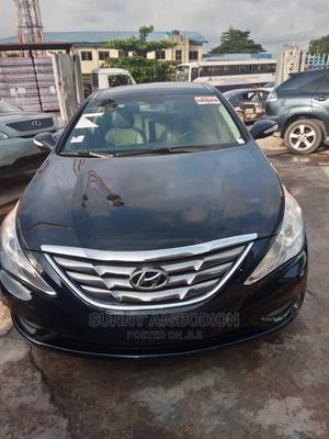 Hyundai Sonata 2012 Black   Cars for sale in Lagos State, Ojota