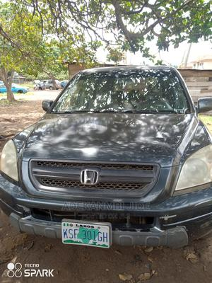 Honda Pilot 2005 LX 4x4 (3.5L 6cyl 5A) Green | Cars for sale in Ondo State, Akure
