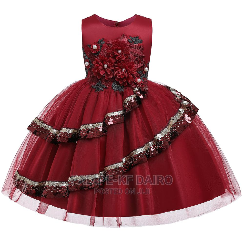 Red Quality Ball Gown