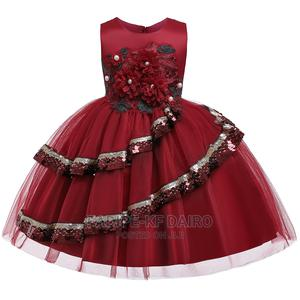 Red Quality Ball Gown | Children's Clothing for sale in Lagos State, Alimosho