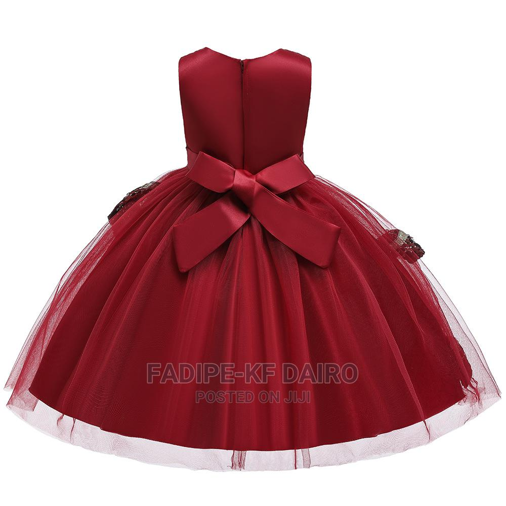 Red Quality Ball Gown | Children's Clothing for sale in Alimosho, Lagos State, Nigeria