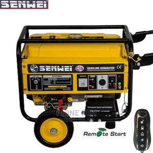 Senwei 4.5KVA Remote Start Generator SV6200E2=Full Coil | Electrical Equipment for sale in Abuja (FCT) State, Wuse