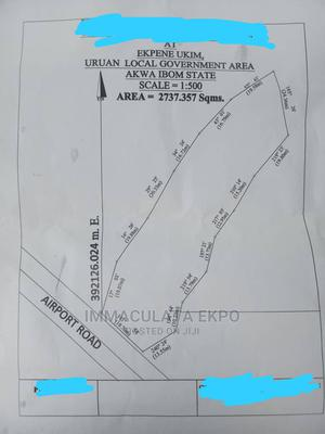 Landed Property at Ekpene Ukim by Major Road (Airport Road) | Land & Plots For Sale for sale in Akwa Ibom State, Uyo