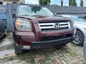 Honda Pilot 2008 EX-L 4x2 (3.5L 6cyl 5A) Red | Cars for sale in Lagos State, Ajah