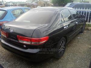 Honda Accord 2003 2.4 Black | Cars for sale in Niger State, Suleja