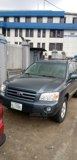 Toyota Highlander 2005 Blue   Cars for sale in Rivers State, Port-Harcourt