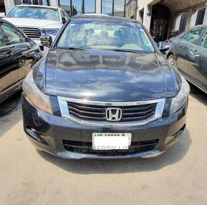 Honda Accord 2008 Black | Cars for sale in Lagos State, Lagos Island (Eko)