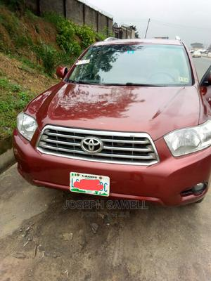 Toyota Highlander 2009 Red | Cars for sale in Rivers State, Port-Harcourt