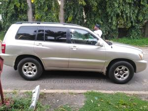 Toyota Highlander 2003 Silver | Cars for sale in Abuja (FCT) State, Asokoro