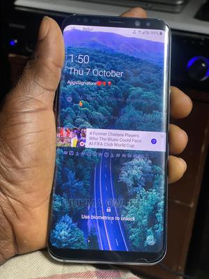 Samsung Galaxy S8 Plus 128 GB Blue   Mobile Phones for sale in Lagos State, Ojodu