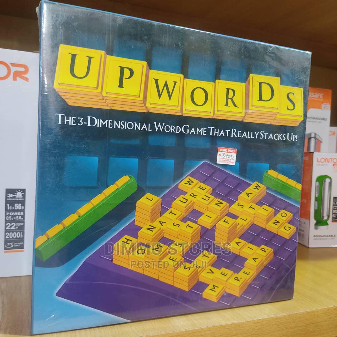 Upwords Word Game