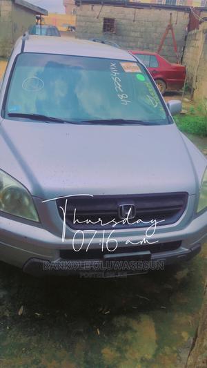 Honda Pilot 2004 EX-L 4x4 (3.5L 6cyl 5A) Gray | Cars for sale in Ogun State, Ado-Odo/Ota