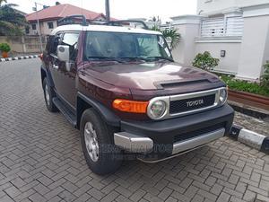 Toyota FJ Cruiser 2007 Base 4x4 Burgandy | Cars for sale in Lagos State, Amuwo-Odofin