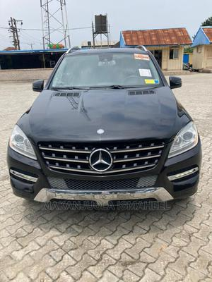 Mercedes-Benz M Class 2013 ML 350 4Matic Black   Cars for sale in Lagos State, Alimosho