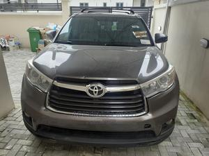 Toyota Highlander 2015 Gray | Cars for sale in Lagos State, Lekki