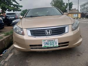 Honda Accord 2009 2.0 i-VTEC Automatic Gold | Cars for sale in Lagos State, Ikeja