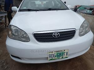 Toyota Corolla 2005 LE White | Cars for sale in Lagos State, Ikeja