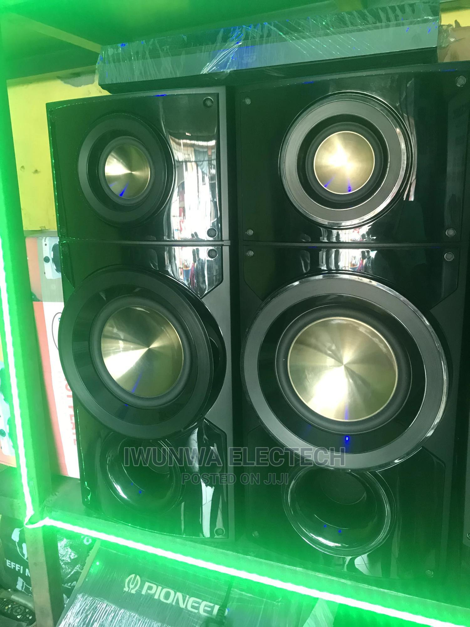 LG Bodyguard Bass Blast Speaker   Audio & Music Equipment for sale in Ojo, Lagos State, Nigeria