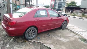 Toyota Corolla 2004 Sedan Red | Cars for sale in Rivers State, Port-Harcourt