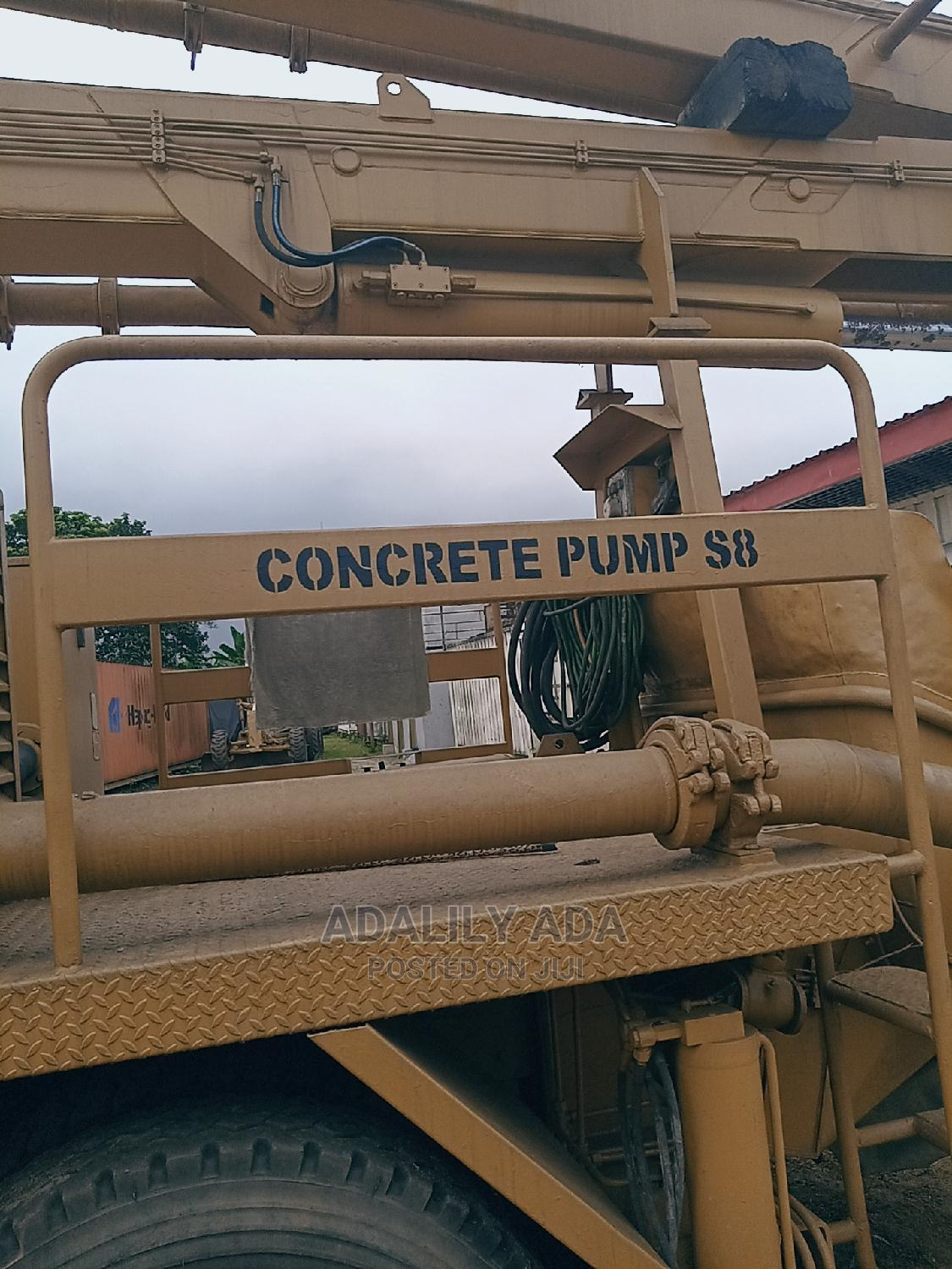 Concrete Pump S8 for Sale | Heavy Equipment for sale in Port-Harcourt, Rivers State, Nigeria