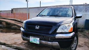 Honda Pilot 2004 EX 4x4 (3.5L 6cyl 5A) Black   Cars for sale in Lagos State, Isolo