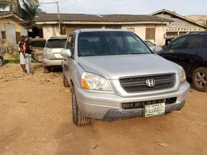 Honda Pilot 2004 Silver | Cars for sale in Lagos State, Ejigbo