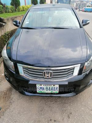Honda Accord 2008 2.0 Comfort Automatic Black   Cars for sale in Lagos State, Ogudu