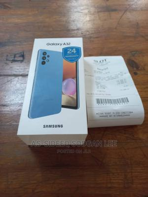 New Samsung Galaxy A32 5G 128 GB Blue | Mobile Phones for sale in Lagos State, Ikeja