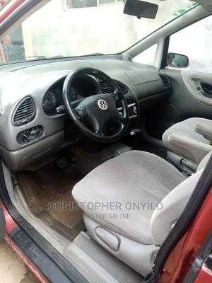 Volkswagen Sharan 2000 Automatic Red | Cars for sale in Lagos State, Badagry