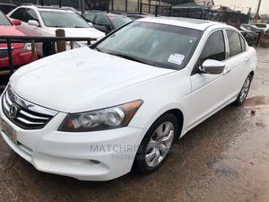 Honda Accord 2010 Sedan EX Automatic White | Cars for sale in Lagos State, Ikeja