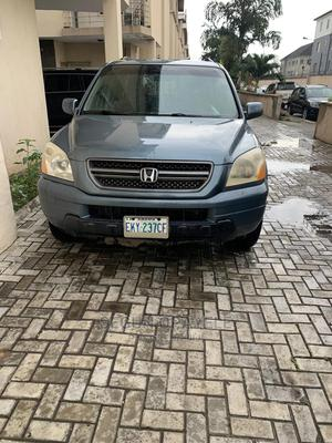 Honda Pilot 2006 EX 4x4 (3.5L 6cyl 5A) Blue | Cars for sale in Lagos State, Surulere