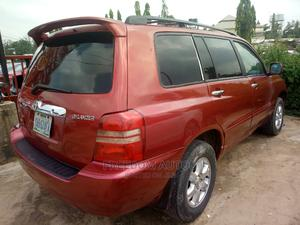 Toyota Highlander 2003 Red   Cars for sale in Abuja (FCT) State, Asokoro