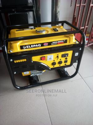 Elepaq SV6800 4.5kva Constance Manual Starter Generator.   Home Appliances for sale in Lagos State, Isolo