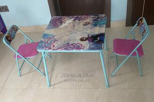 Toddler Table Set With 2 Chairs   Children's Furniture for sale in Lagos State, Lekki