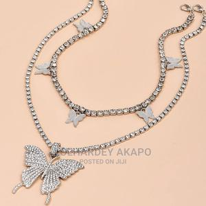 Butterfly Pendant Choker Chain | Jewelry for sale in Lagos State, Alimosho