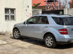 Mercedes-Benz M Class 2007 ML 350 4Matic Blue | Cars for sale in Delta State, Oshimili South