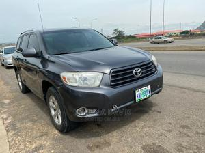 Toyota Highlander 2008 4x4 Gray | Cars for sale in Abuja (FCT) State, Gwarinpa