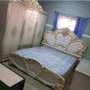 Executive Bed With 2 Bed Side Drawers and Mirror Console,   Furniture for sale in Lagos State, Lekki