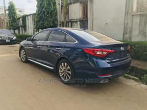 Hyundai Sonata 2017 Blue   Cars for sale in Lagos State, Ikeja