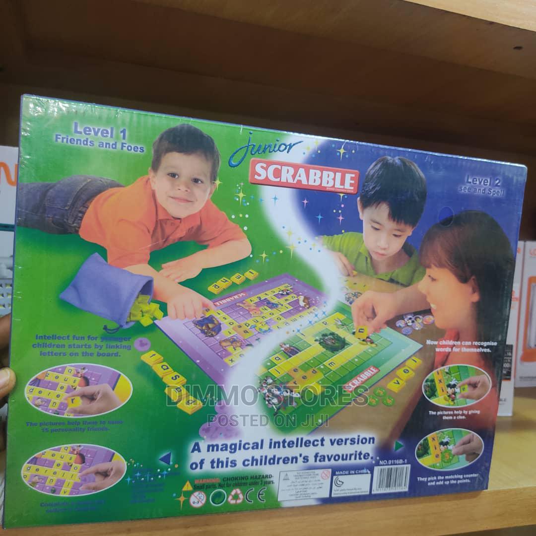 Junior Brand Crossword Game