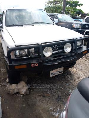 Toyota Hilux 1999 White   Cars for sale in Lagos State, Apapa